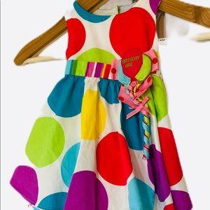 Bonnie Baby Birthday Girl Dress 18 Mo